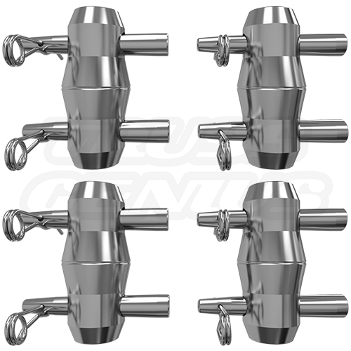 2 Sets of Connecting Hardware for F32 I-Beam Trussing (Included)
