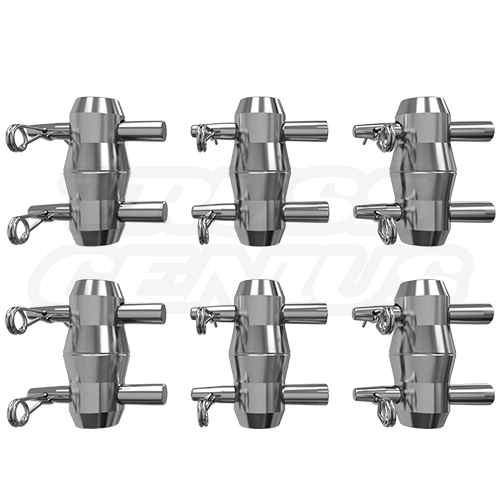 2 Sets of Connecting Hardware for F33 Triangular Truss (Included)