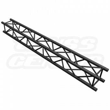 SQ-4113 Black Global Truss 8.20-Foot Matte Black F34 Truss Straight Section
