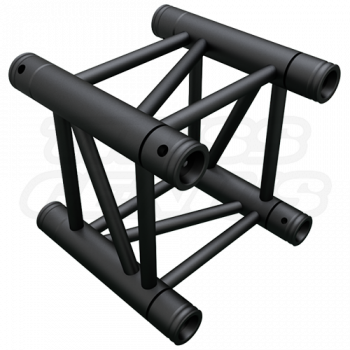 SQ-4109-29 Black Global Truss 0.95-Foot / 0.29-Meter Matte Black F34 Truss Straight Section