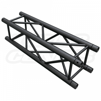 SQ-4110 Black Global Truss 3.28-Foot / 1.0-Meter Matte Black F34 Truss Straight Section