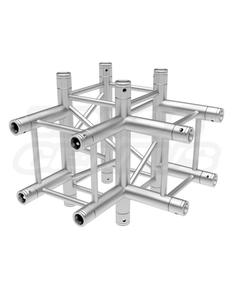 SQ-4130 Global Truss 4-Way T-Junction Corner F34T40