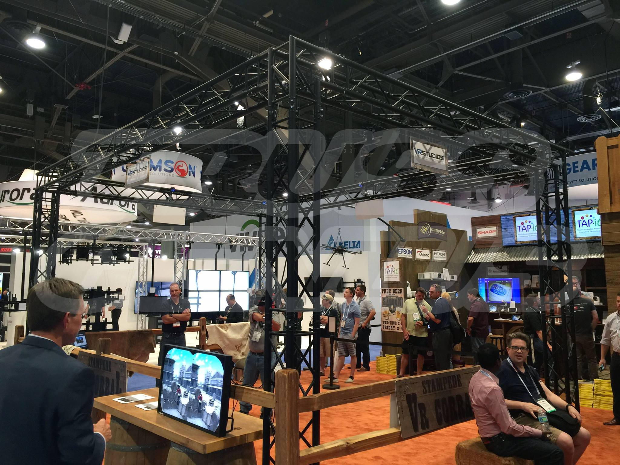Truss Genius Stampede Global Infocomm 16 Booth