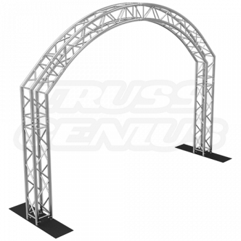 Goal Post F34 Square Truss System Oval Arch 14x10