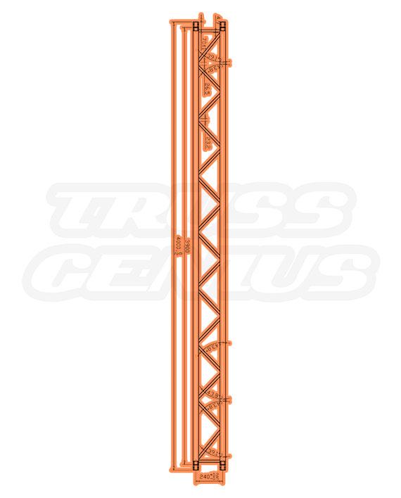IB-4055 F32 I-Beam Trussing Measurements