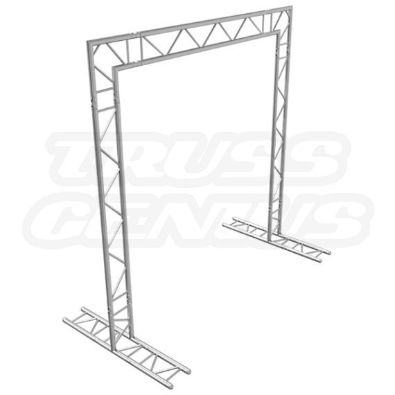 10x10 F32 Truss Goal Post Side Profile Photo
