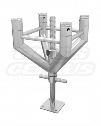 SQ-Uniped Adjustable Truss Leg for F34 Square Truss