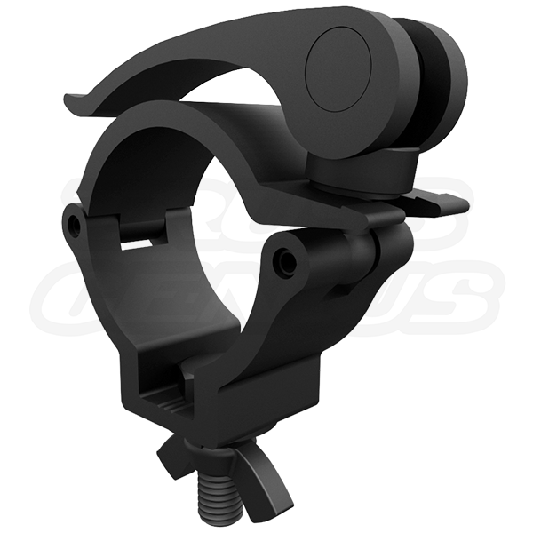 Mini 360 QR Clamp Matte Black 2-Inch Medium Duty Quick Release Truss Clamp CJS5001EB