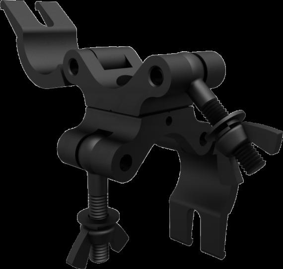 Black Pro Swivel Clamp Open Profile Photo | CJS5006UB