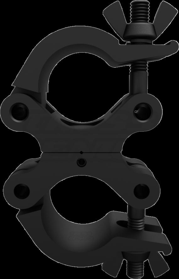 Black Pro Swivel Clamp Side Profile Photo | CJS5006UB
