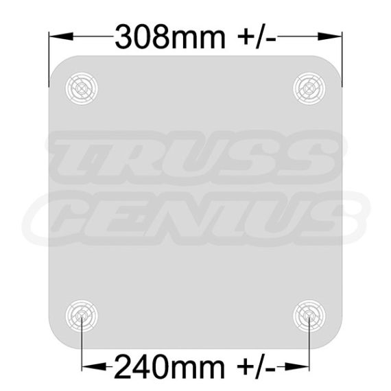 SQ-4137 Base Plate Dimensions