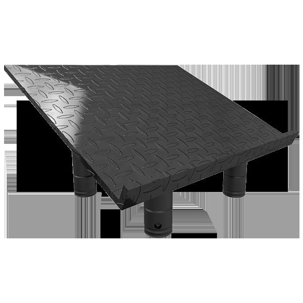 SQ-4137 TP Matte Black Top Plate for Truss Lectern