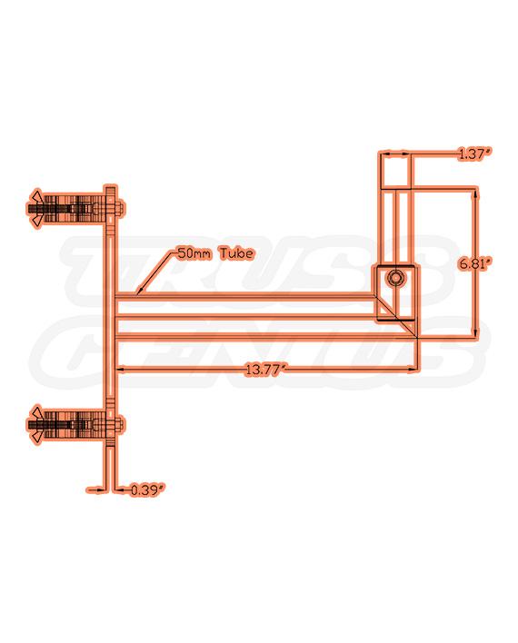 DT-F34 SPK/MT Dimensions