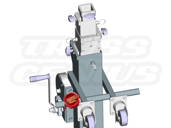 ST-180 Crank Stand Top Mast (Rendered Image of Product)