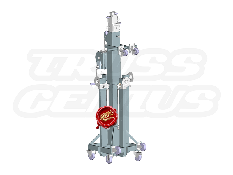 ST-180 Heavy Duty Crank Stand (Rendered Image of Product)