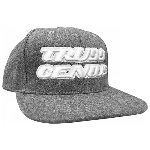 Truss Genius Limited Edition Heather Grey Snapback Hat