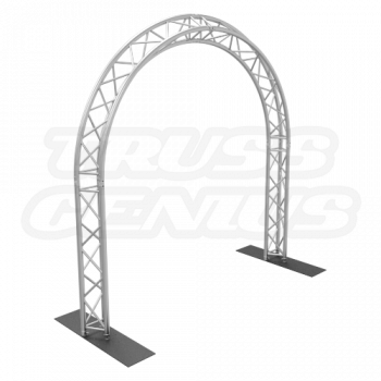 10x10 Truss Circular Arch F33 Triangular Aluminum Truss