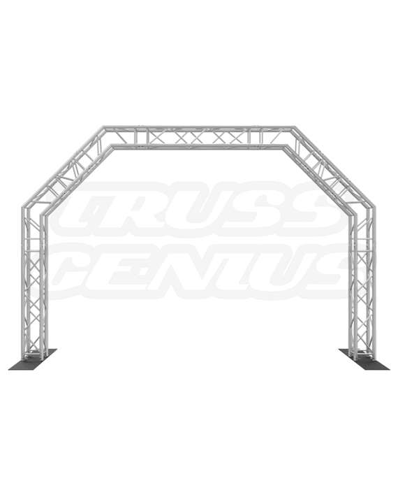 Goal Post F34 Square Truss System Octagon Arch 15x10