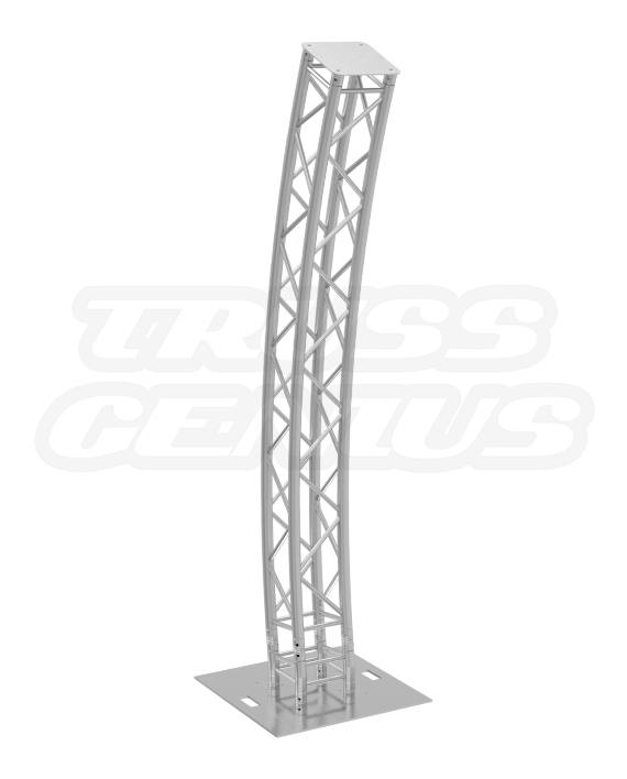 Curved Truss Totem