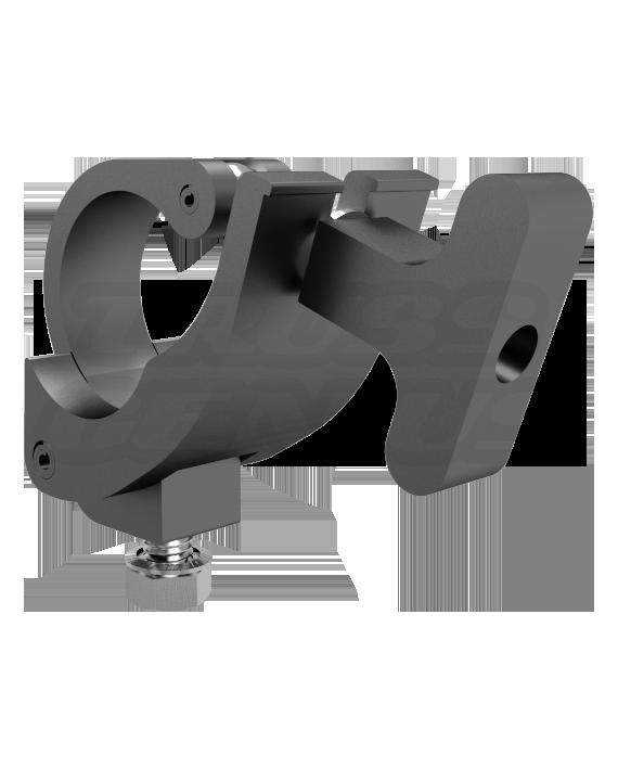 Black Mini-Claw Clamp MIB, Stage Lighting Equipment