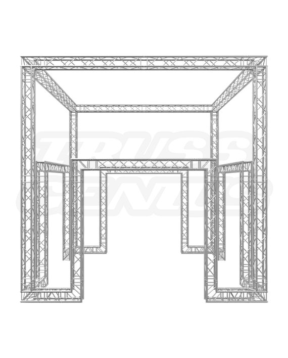 20-Foot Multiple Entry Truss Trade Show Booth