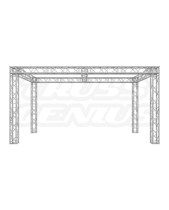 10x20 Truss Booth with Center Beam