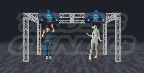 Virtual Reality Truss System - Motion Capture Truss System