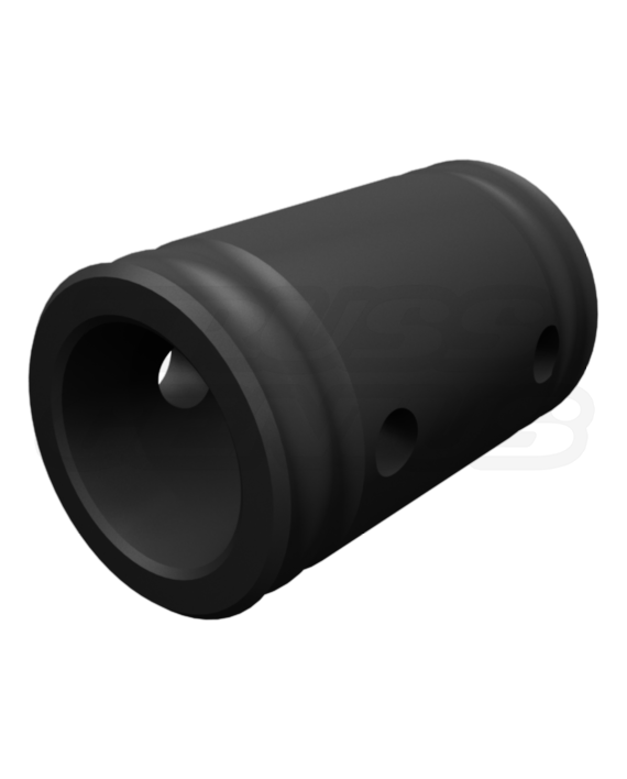 Matte Black Truss Spacer 82mm 3.2-Inch Fits F31, F32, F33, F34 and F44P Aluminum Trussing, Stage Lighting Equipment