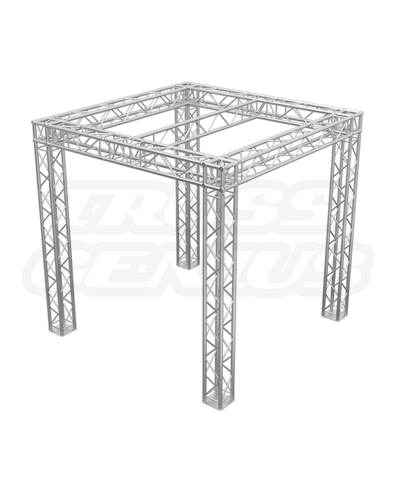 10-Foot Trade Show Truss Booth with Center I-Beam