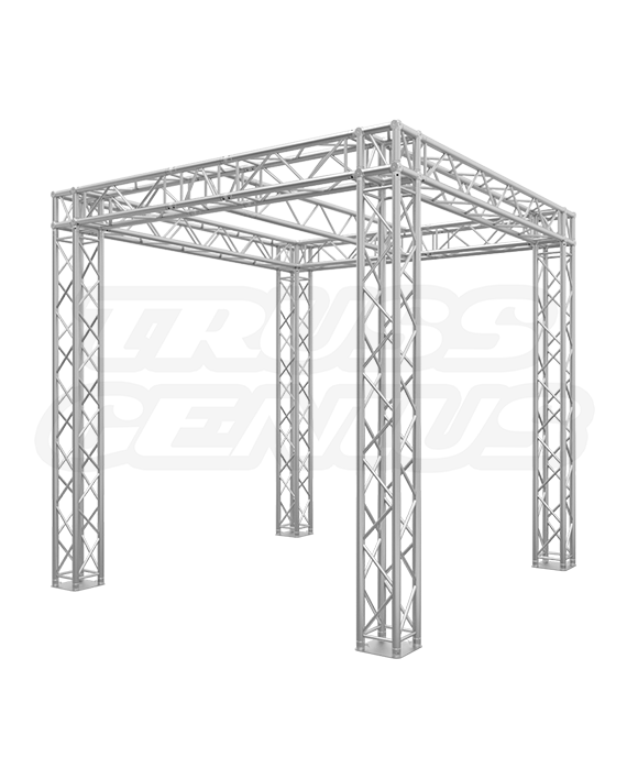10x10 Trade Show Truss Booth with Center I-Beam
