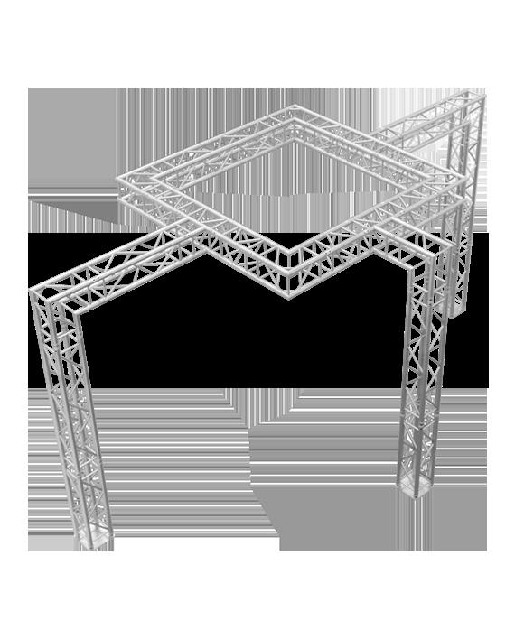 10x20 Motion Capture Truss System