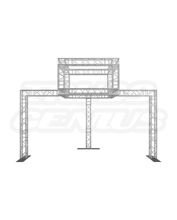 10x20 Trade Show Truss Booth and Display