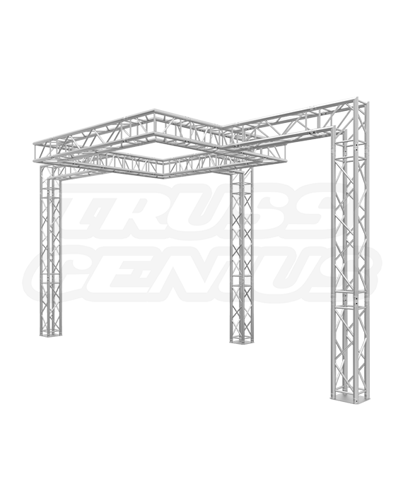 10′ x 20′ Truss Booth with Center Square