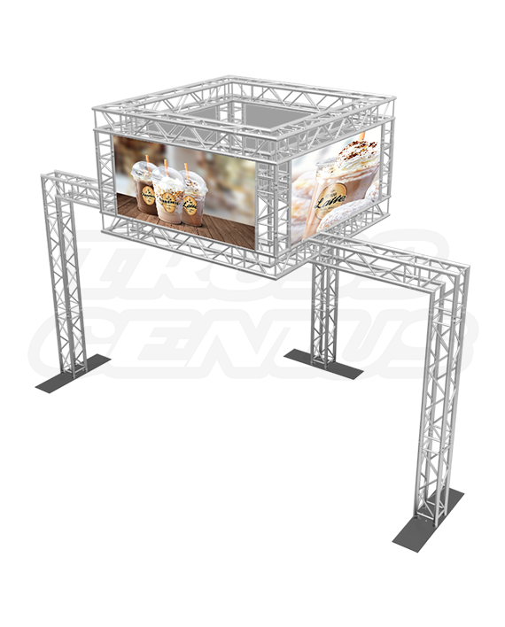 10x20 Truss Exhibit Booth