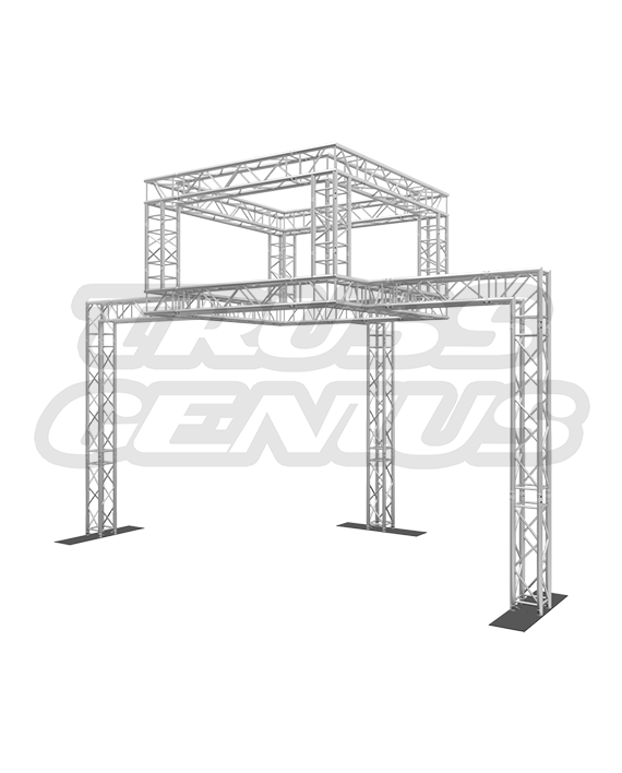 10x20 Truss Tradeshow Display