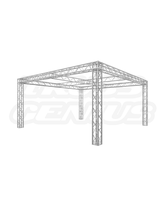 20x20 Trade Show Truss Booth Display with Center Cross I-Beams