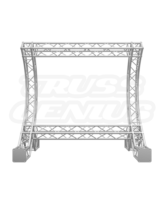 10x10 F34 Curved Backdrop Truss Goal Post