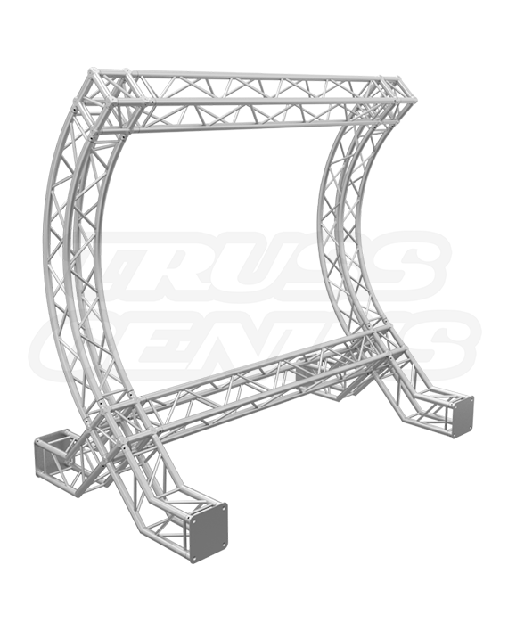 10x10 F34 Curved Backdrop Truss System