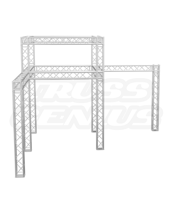 20×20 Trade Show Truss Booth Display with Double Tier