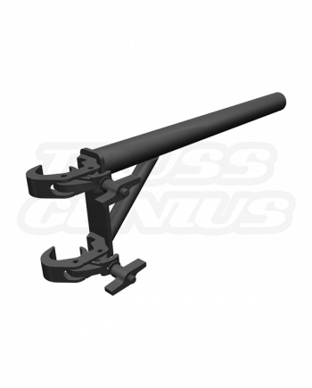 Black DT-HDQR Boom Arm