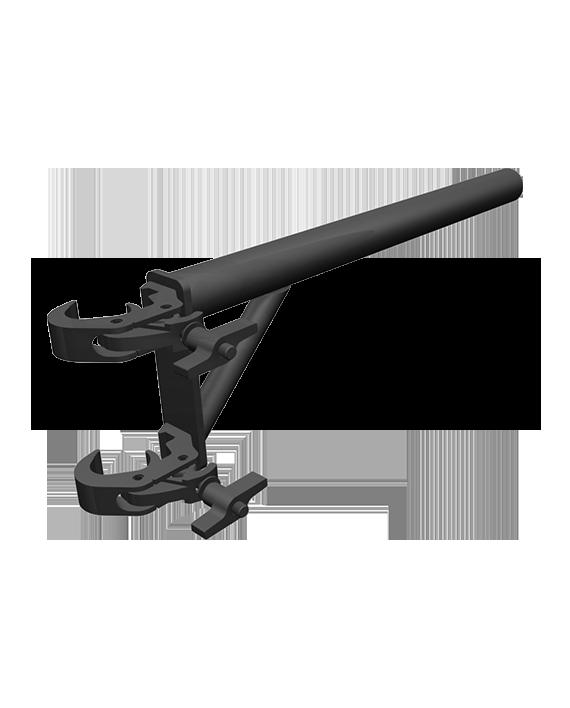 Black DT-HDQR Boom Arm