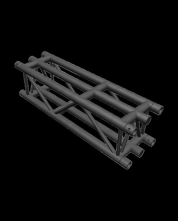DT36-100 Matte Black F36 Square Truss