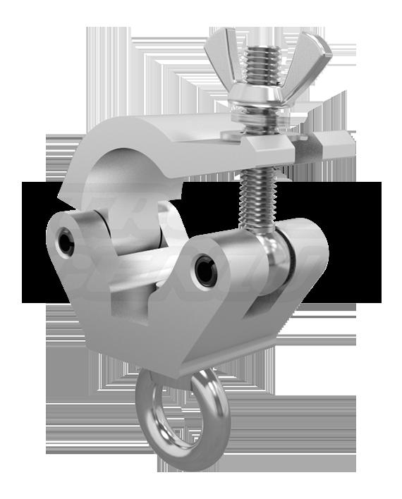 X-Pro Eye Clamp M12 - 2-Inch Extra Heavy Duty Pro Clamp with Welded Eye Nut