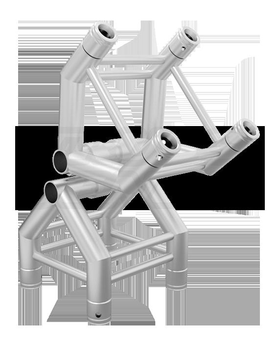 SQ-F34-PVT 2-Way Pivot Corner