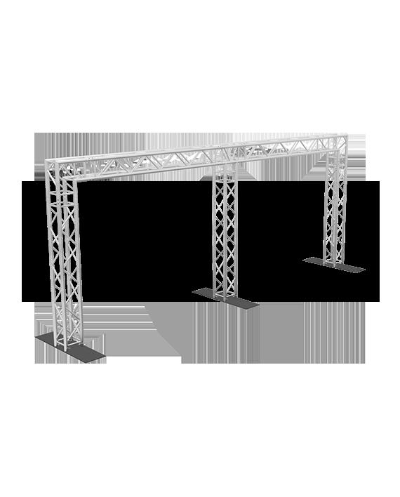 8x20 Tri Post F34 Square Truss System