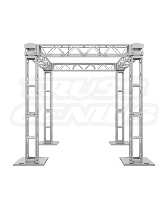 10x10 Modular Truss System | 12-Inch Plated Trussing