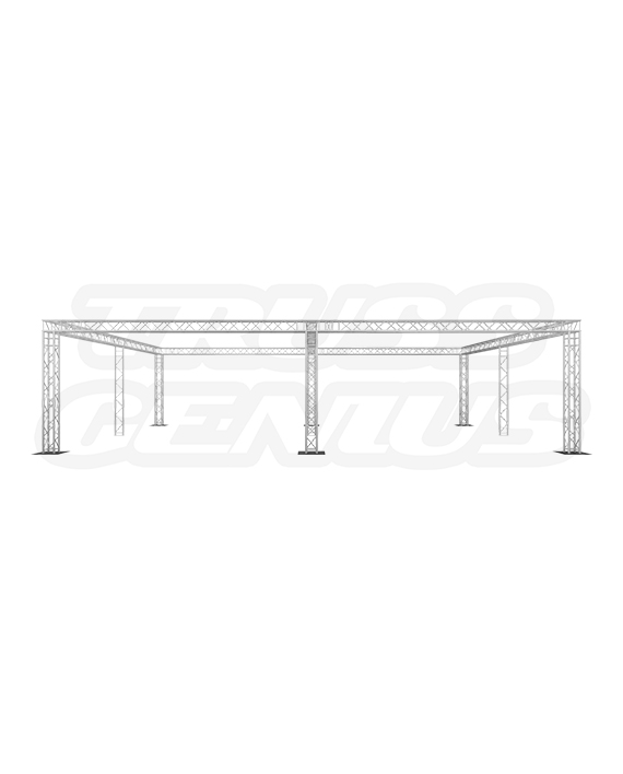 30x40 Truss System with Center Beam