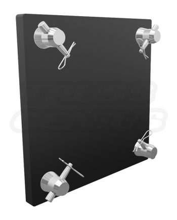 SQ-4137 SS Black Stainless Steel Base Plate for F34 Box Trussing