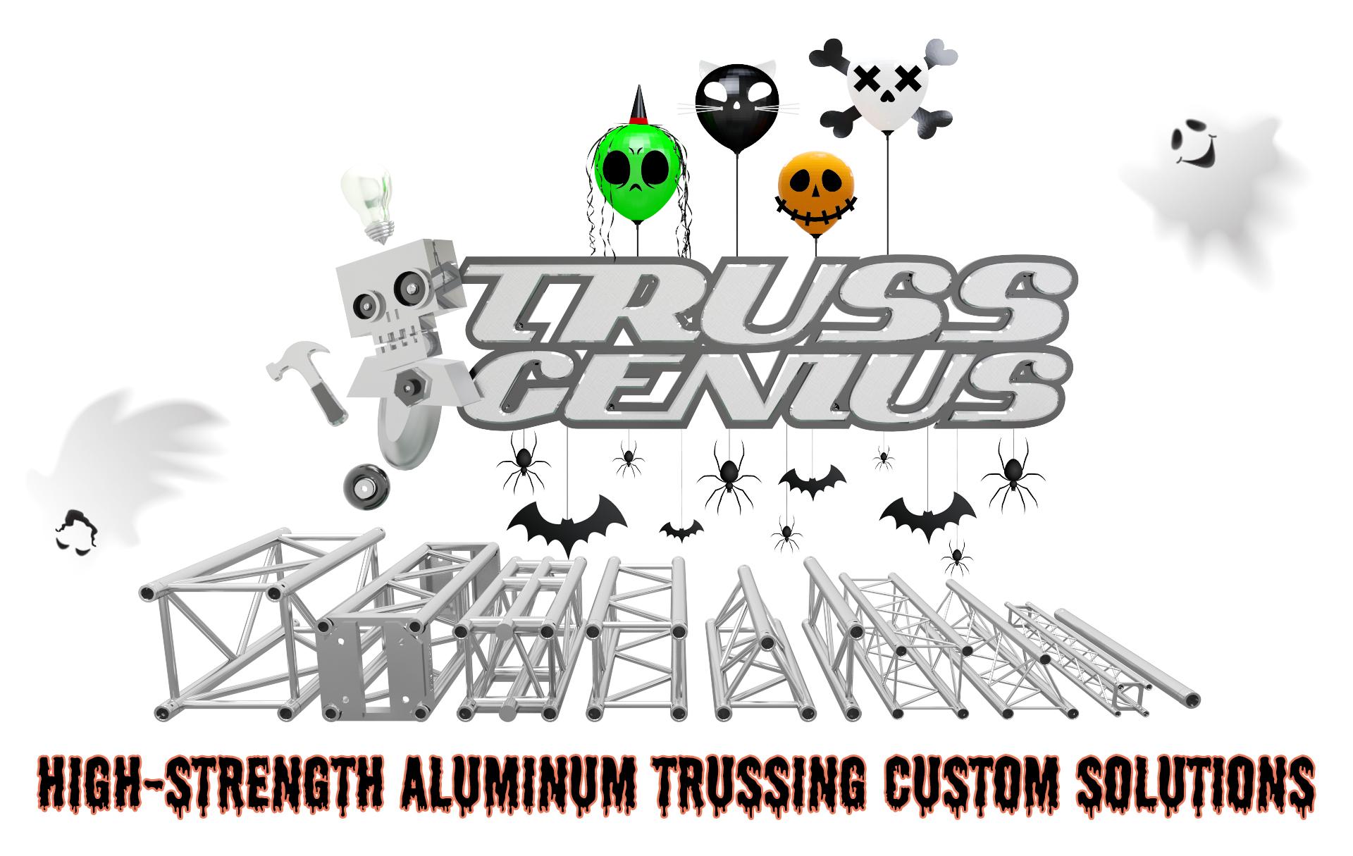 Truss Genius | Aluminum Truss For Trade Show Exhibits and Entertainment Applications