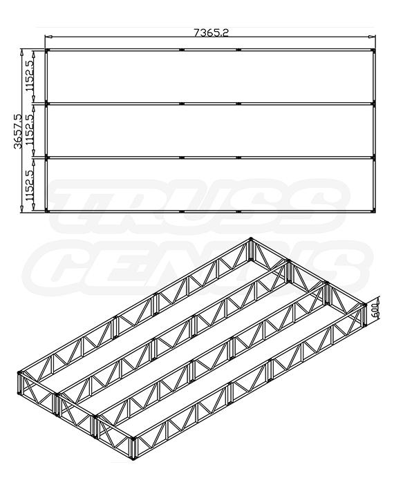CTS 24x12 F62-105 Dimensions